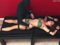 Scarlett on the Tickle Table - (preview)