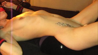 Tied, Teased, Fucked hard and cum on face - Miss19Red