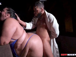 majiik montana throat trains chubby latina Breana Khalo on BBWHighway