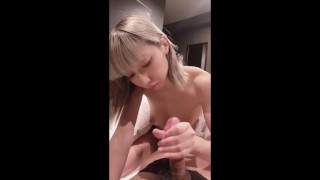 Japanese idol [Mayuka] blowjob and creampie video. POV, Leaked