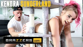 brazzers – monster tit kendra sunderland gets stuck and needs some help from zac wild – teen porn