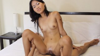TrikePatrol Skinny Filipina Fucks For First Time With BF