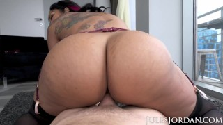 Jules Jordan - Dominican Babe Mary Jean Shows Off Her Voluptuous Curves