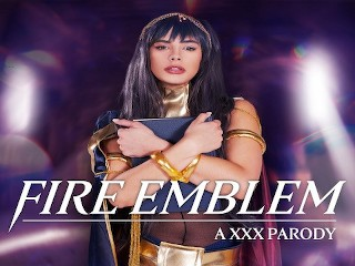 Big Tits Babe Violet Starr As Tharja Cares About Your Dick In FIRE EMBLEM A XXX Parody