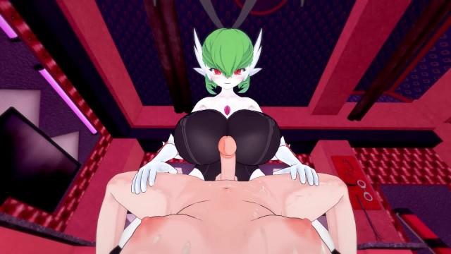 Pokemon: Futa Gardevoir busty bunny pleasure  Futa Taker POV