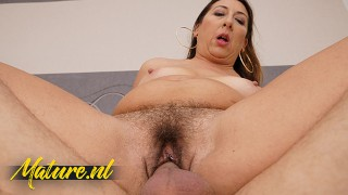 Hairy Mature Wife Needs a Real Man To Satisfy Her Needs