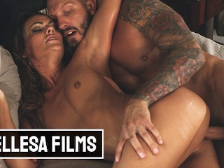 Bellesa - Hot Brunette Alina Donovan Gets Her Pussy Licked & Fucked Hard By Quinton
