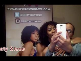Misty Stone with Jiggy Jaguar AVN 2017 Interview