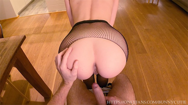 Best Wife?! Striptease And Pounding Pussy Multiple Poses With Cum Mouth.