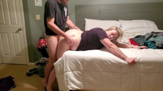 From folding laundry to fucking curvy wife