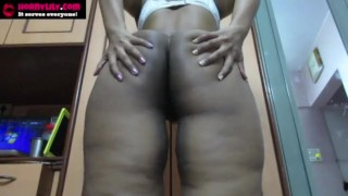 Big Ass Indian Horny Lily Masturbating Giving Jerk Off Instructions To Her Fans