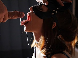 I was a BAD GIRL, I have to be TAUGHT. He FUCKED MY MOUTH AND CUM ON MY FACE. Thank you MY MASTER