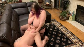 Ass up taking a hard deep pegging from my hot big tit milf