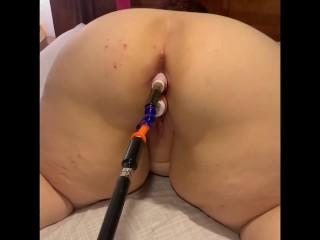Fat Girl Doppelte Penetration