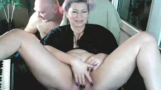 Slut wife for sale-1 )) My bitch spreads her legs live ... I love to fuck my goat for show .!. ))