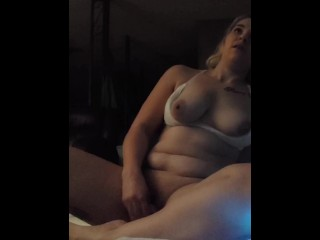 Stepsister rides dildo brother walks in on her & gets his dick sucked at the same time. -Alixx_x2020
