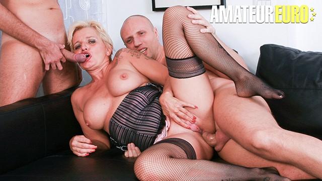 CastingAllaItaliana - Big Tits Italian Mature Hardcore Double Penetration Swinger Threesome
