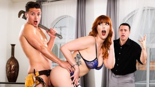DevilsFilm Cheating Wife Lauren Phillips Gets Caught Fucking The Plumber With Cumshot