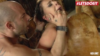 HerLimit - Ani Black Fox Big Ass Russian Slut Fucked Hard In Both Holes By A Big Cock - LETSDOEIT