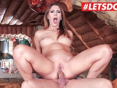 HerLimit - Ani Black Fox Big Ass Russian Slut Fucked Hard In Both Holes By A Big Cock - LETSDOEIT