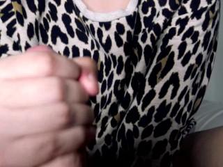 4K Cheetah Girl Blows Jamie Stone