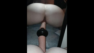 Daddy's whore really wants two cocks :part2