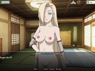 Naruto Hentai - Naruto Trainer [0.14.1] Part 54 Ten Ten And Ino Cowgirl SEX By LoveSkySan69