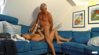 XXXOmas - Amateur German Granny Gets Fucked Hard By Her Kinky Husband