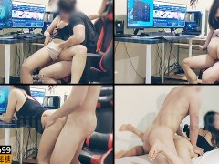 Loliiiiipop99 - Horny Asian Babe Wants Cock and Interrupts My League of Legends Game- Sub