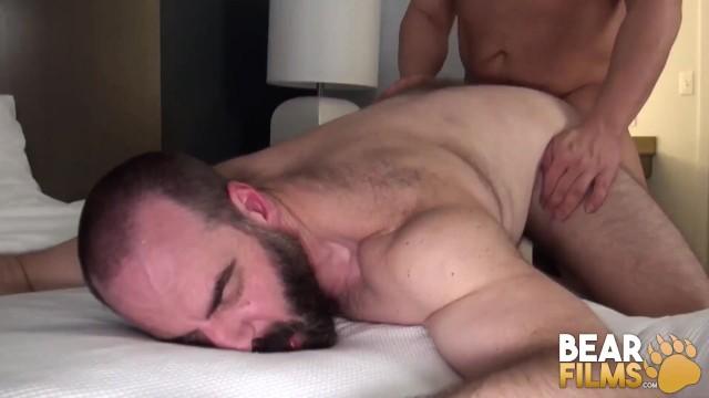 BEARFILMS Hunky Bears Bareback After Hardcore Deepthroat