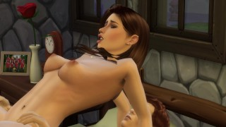 Forbidden Love 6 - Part 2 - Step Son Breeds His Incredible Step Mom Raw and Gives Her His Seed