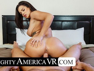 Naughty America - Keisha Grey is hot and horny for you after her yoga session