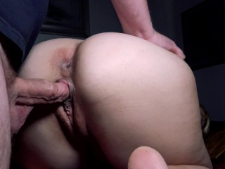 4K Bend Her Over Jamie Stone and Cum Inside Her Pussy