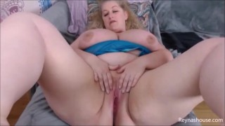 Edging Tease - Reyna Mae - BBW Blonde MILF JOI Jerk Off Instruction - All Natural Big Tits - PREVIEW