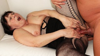 ugly 68 years old mom rough fucked