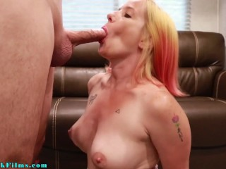 Mom Cuckolds Step Son with His Bully - Jane Cane