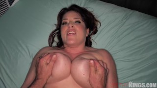 Busty Milf Maggie Green Gets Perved on by Step-Son and Takes His Big Cock