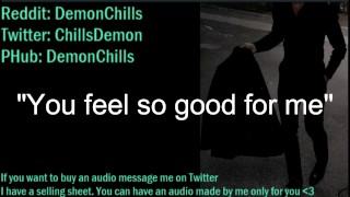 """DOM DIRTY TALK AUDIO - """"You feel so good for me"""" I came so much"""