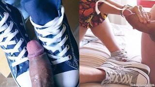 jizz on chucks cumpilation hd cumshots compilation yummycouple shoejob converse allstars sneakers – teen porn