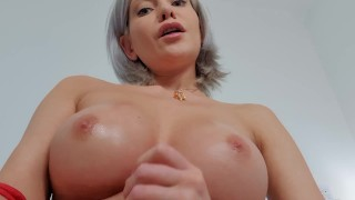 Screen Capture of Video Titled: Red bra perfect tits to fuck