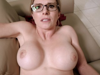 Hot Step Mom is Stuck to the Couch – Cory Chase