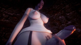 Tall Lady Dimitrescu wants to play with you(Taker POV)|Resident Evil Village