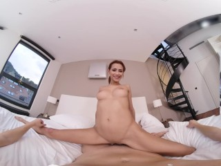 VR BANGERS Flexible Teen Latina Needs Your Cock To Relax VR Porn