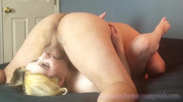 I Let Him Fuck my Face so I Can Watch Him Cum Deep Down My Throat (Upside Down 69 Throatpie)