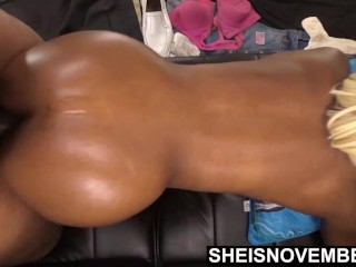 I Give My Stepdaughter Passionate Doggystyle. Msnovember Inexperienced Black Pussy Penetrated By Big