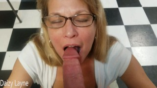 Friends Cougar Stepmom Craves my Young Cum Filled Cock.