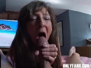 Lusty Grandma Juicy Oral Creampie Big Cock – Onlyfans @SFSB217