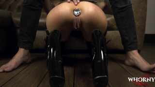 Anal whore loves a big cock in her perfect ass - WHORNY FILMS
