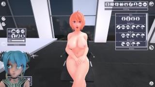 Deepthroat au travail [Office sharing game] P4