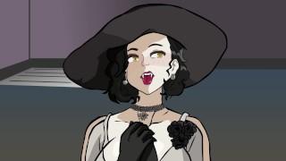 Resident Evil Village Hentai MILF Tall Lady Dimitrescu Big Tits And Ass